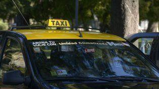 Los taxistas, preocupados por la caída de la actividad.