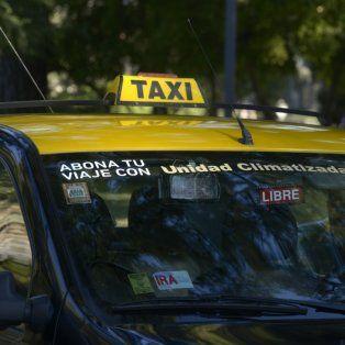 taxistas denuncian que cayo la actividad y que se levantaron servicios nocturnos