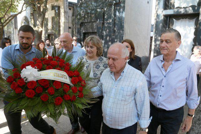 Los máximos dirigentes del socialismo recordaron a Guillermo Estévez Boero.