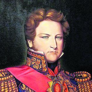 El brigadier general Juan Manuel de Rosas.