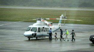 Macri envió la aeronave a Punta del Este para buscar a su esposa e hija.