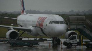 La aeronave de LaTam aterrizó sin inconvenientes.