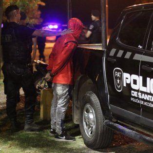 Fueron cuatro los detenidos por alcoholemia y narcolemia positivos.