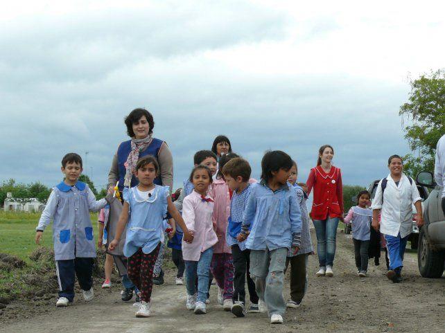 Contención. Los centros reciben a diario a más de 1.750 niños para erradicar el trabajo doméstico infantil.