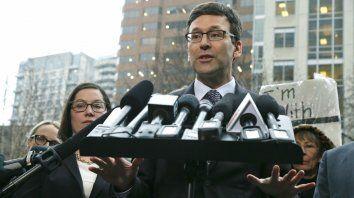 Firme. El fiscal de Seattle, Bob Berguson, que presentó la demanda contra el decreto antiinmigratorio.