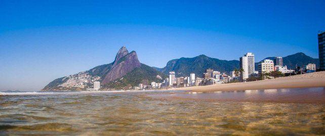 Fuerte contaminación de playas brasileñas