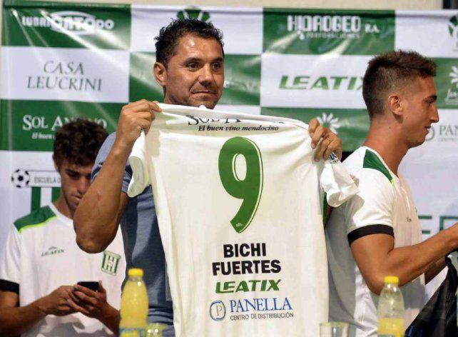 El Bichi Fuertes jugará en Escuela Deportivo Junín
