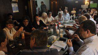 Cónclave. La Multisectorial contra el Tarifazo tuvo ayer su primera reunión del año. Analizan recurrir a la Justicia.