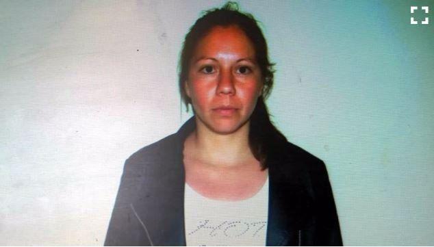 Silvina Brítez Pérez tiene 25 años y cumple arresto domiciliario para atender a su pequeño hijo.
