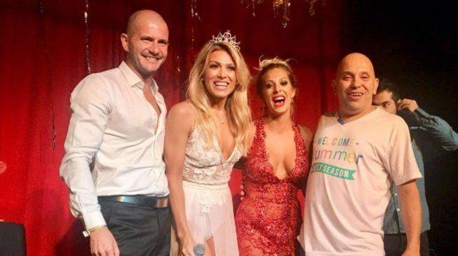 Coki Ramírez cantó con sus amigos en su propia fiesta de cumpleaños