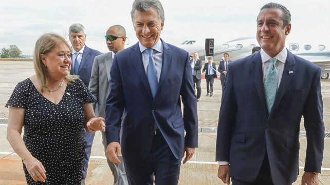 Las imágenes de la llegada del presidente Macri a Brasil