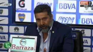 El presidente de Boca