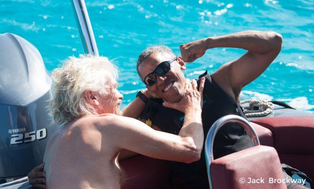 Obama disfruta de su retiro