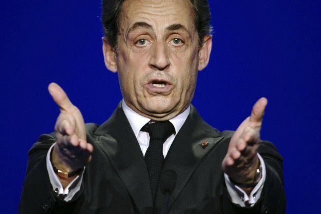 En la mira. Sarkozy ya no compite