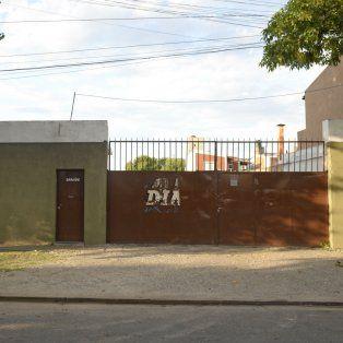 El galpón de Presidente Quintana al 2400, donde funcionaba el depósito de la empresa fantasma.