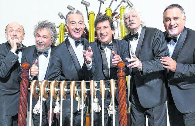 Les Luthiers estrena Gran Reserva en Rosario