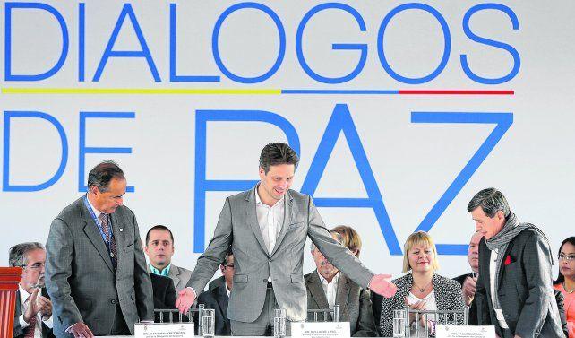 Inauguración. El canciller ecuatoriano