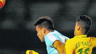 De última. Argentina respiró al final.