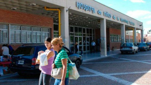 El bebé estuvo internado en el Hospital de Niños de la capital cordobesa.