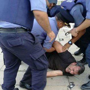 El dirigente de ATE fue llevado detenido.