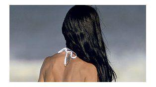 El lomazo de Carolina Baldini se lleva todas las miradas en las playas de Pinamar