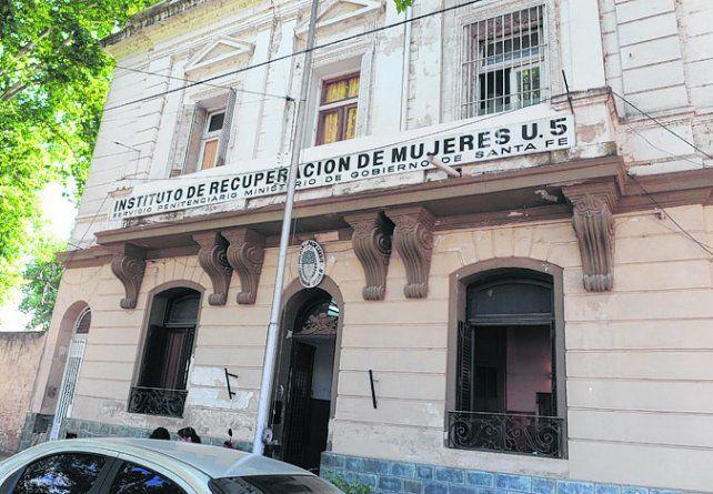 Presa. Ruñisky permanece detenida en la Unidad Nº 5 de Rosario.