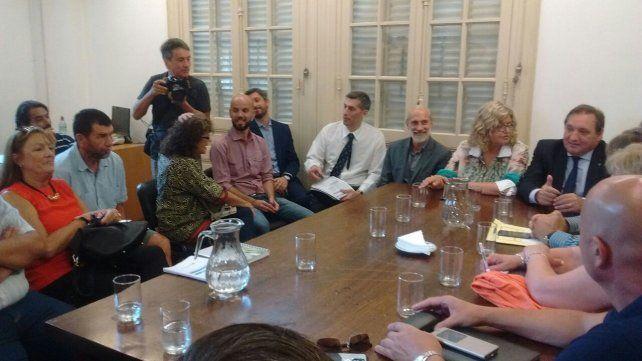 Sin que se discutieran salarios, finalizó la primera reunión paritaria docente