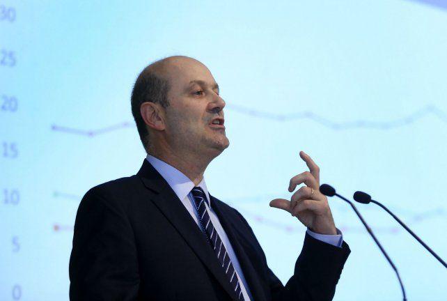 El plan. El titular del BCRA fijó la meta de inflación anual entre 12% y 17%.