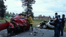 En un Volkswagen Gol rojo robado iban los maleantes; en un Toyota Ethios blanco, la familia de La Plata..