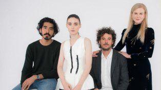 Hay equipo. Dev Patel, Rooney Mara, el director Garth Davis y Nicole Kidman, los principales responsables de la película que se estrena este jueves.