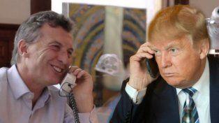 Viejos conocidos. Macri habló con el segundo de Trump de redoblar esfuerzos entre los dos países.