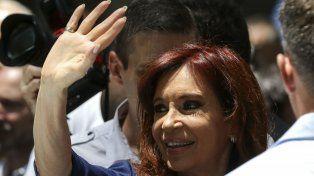 Volver. La ex presidenta arma su estrategia de cara a las legislativas.