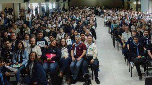 Rebeldes. El último congreso de los scouts, realizado en noviembre.