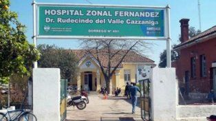 La beba ingresó sin vida al Hospital Zonal de Fernández
