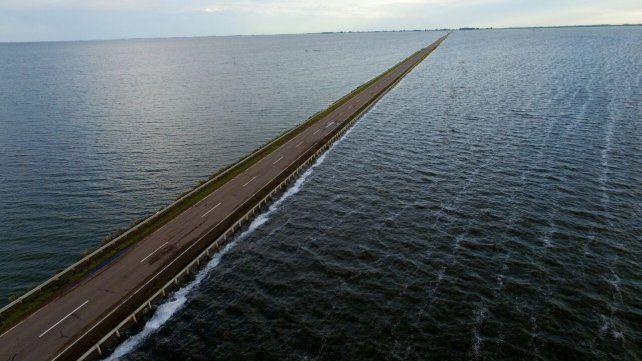 La ruta 7 será habilitada mañana a la altura de La Picasa tras el riesgo por la crecida del agua