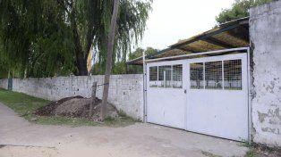 Origen solidario. El club.Atlético Junior funciona en un terrreno donado por la Escuela Joaquín V. González.