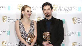 Dupla exitosa. Emma Stone y Damien Chazelle