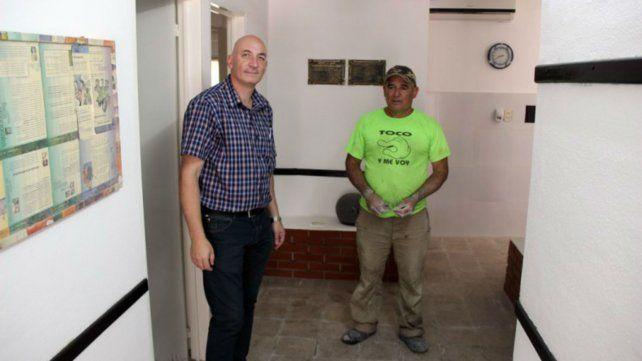 Remodelan un centro de salud en San Lorenzo