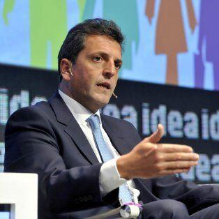 La Argentina exigió un cambio que imponía gobernar de manera transparente, reclamó Massa.