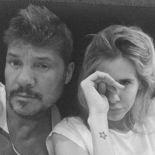 Marcelo y Guillermina, recién levantados.