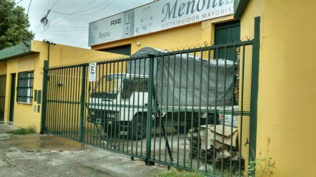 La empresa Mononi SRL fue víctima de un robo el domingo a la madrugada.