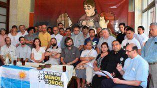 Compromiso. El padre Pepe Di Paola manifestó su oposición al programa.