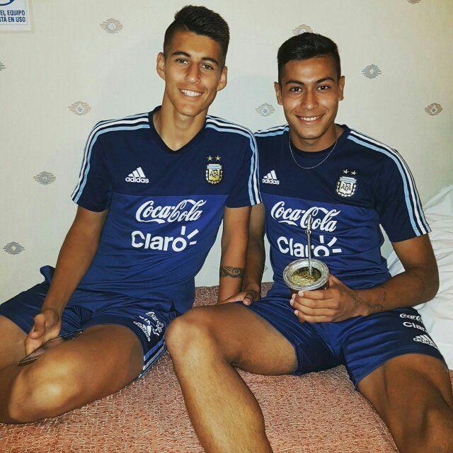 Mateando. Joaquín Pereyra y Emanuel Ojeda