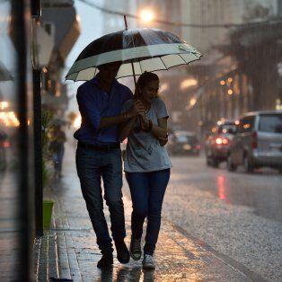 El pronóstico de lluvia contiinuará hasta el martes de la semana que viene.