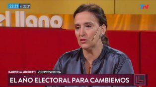 Michetti se mostró a favor de incorporar peronistas a Cambiemos