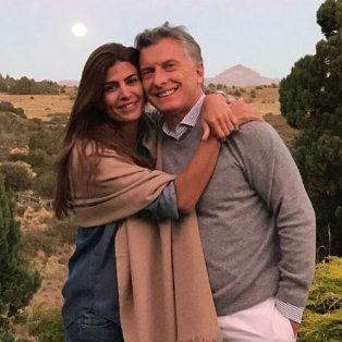 Juliana Awada celebró el Día de San Valentín con una foto con Mauricio Macri en Instagram.