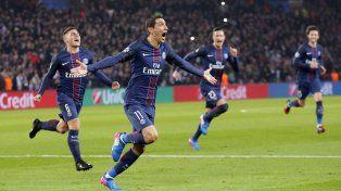 Cumpleaños soñado para Angel Di María: doblete y goleada del PSG a Barcelona