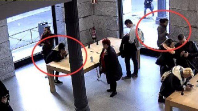 Detienen a una banda de jóvenes que robaba IPhones a mordiscones