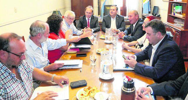 Sin números sobre la mesa. El ministro de Gobierno