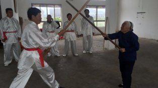 Practicar kung fu, la receta de una abuela de 94 años para mantener una gran forma
